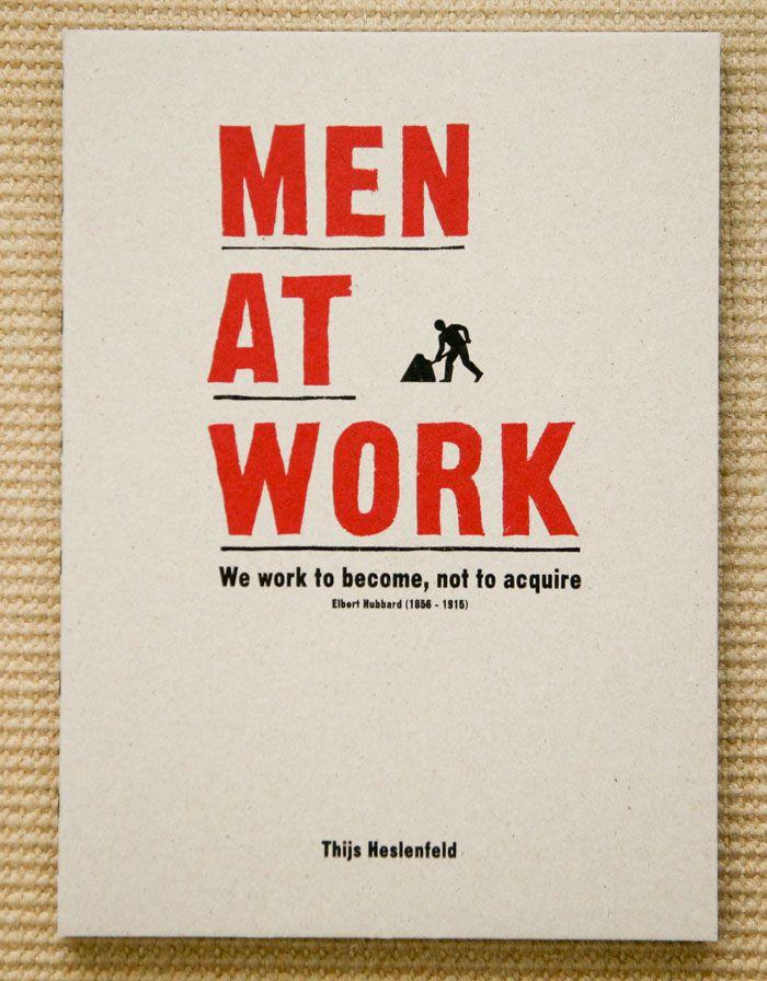 Thijs Heslenfeld – Men at Work (Nil Sine Labore)