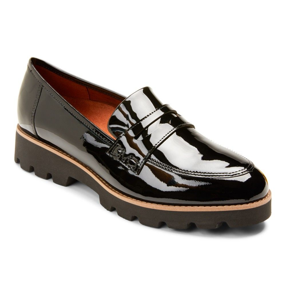 Loafers, Black patent loafers, Loafers