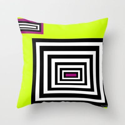 Neon Heaven   Throw Pillow