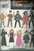 An original ca. 1995 Simplicity Pattern 9698.  Child's Mix and Match Costumes.