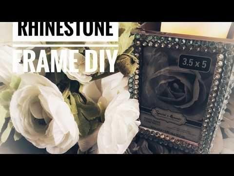Best 58 Diy Dollar Store Rhinestone Frame Box Valentine's 400 x 300