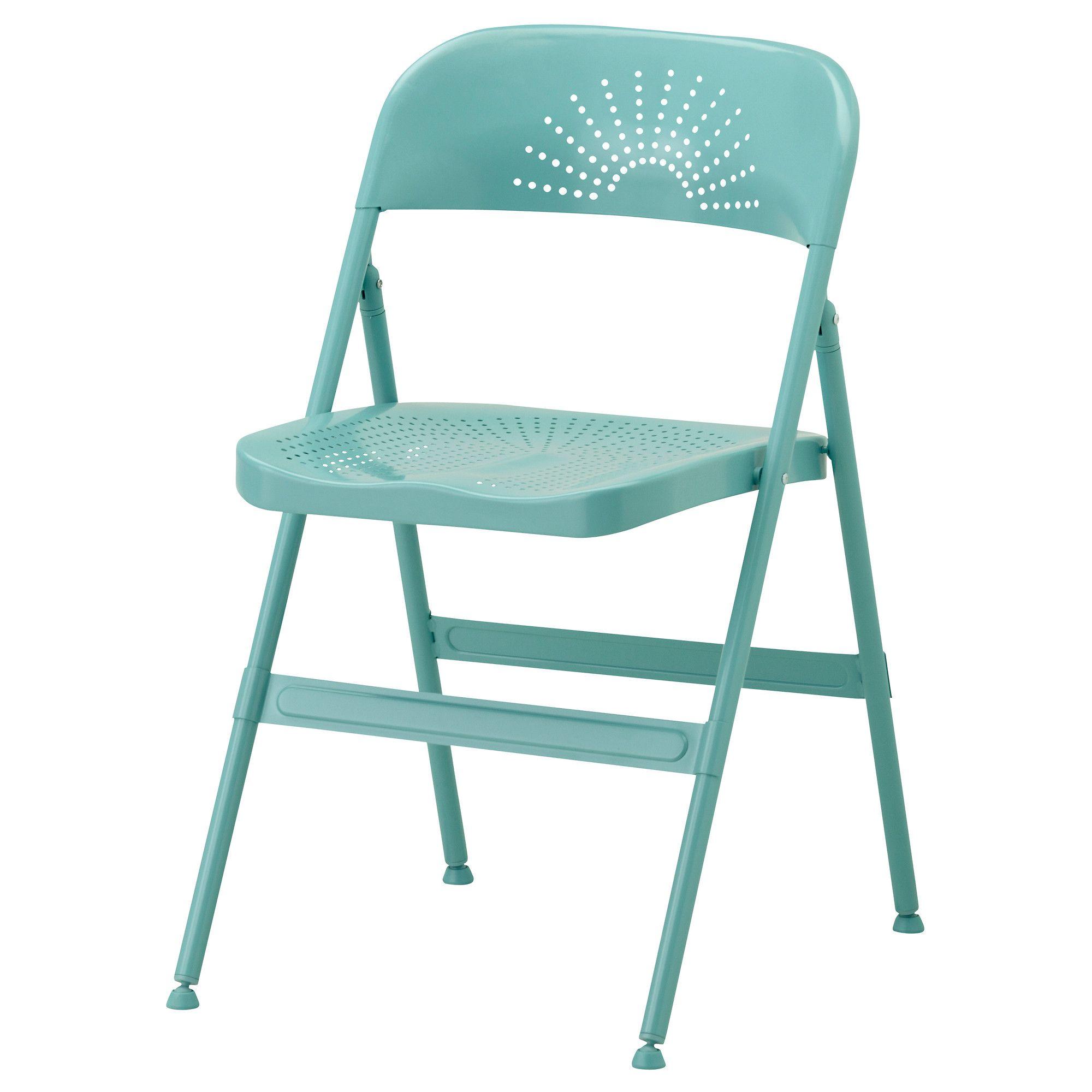 frode cadeira dobrvel turquesa metal folding chairsmetal