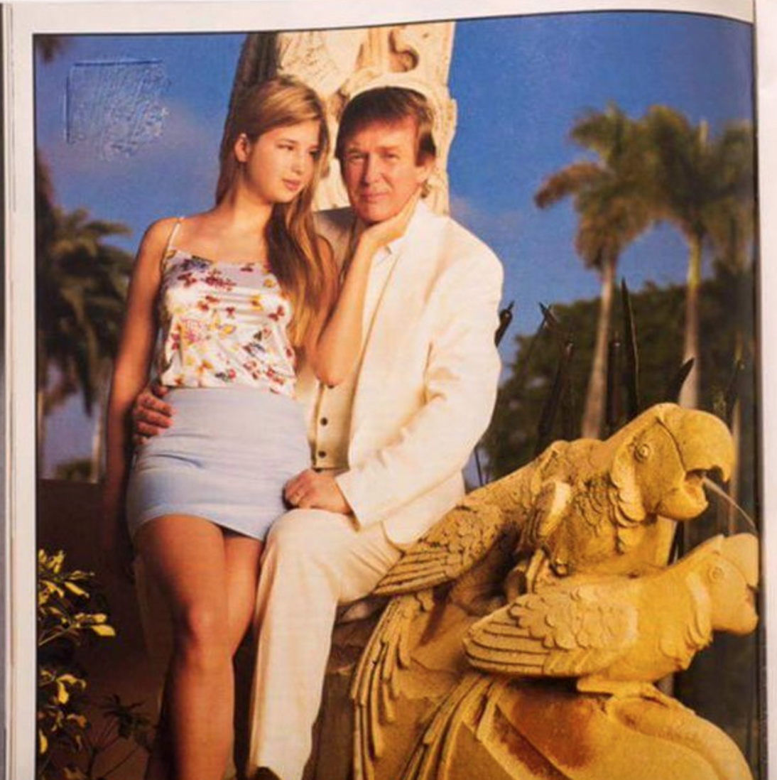 Retro daughter pussy This Pic Of Donald Trump And His Daughter Is Like An Ad For Tropical Incest