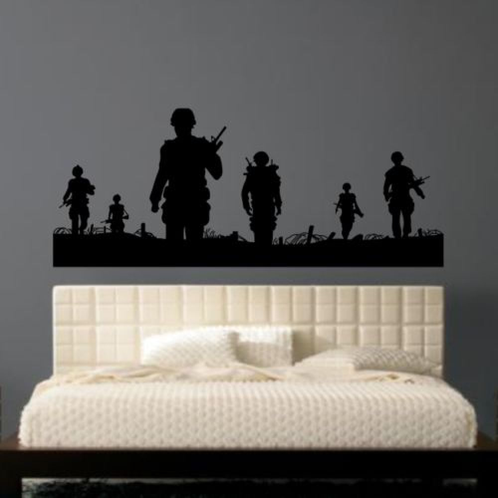 army men wall sticker in 2020 army bedroom home decor on wall stickers for home id=74698