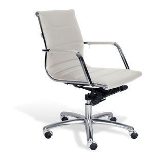 Jesper Office White Commercial Grade Modern Office Chair
