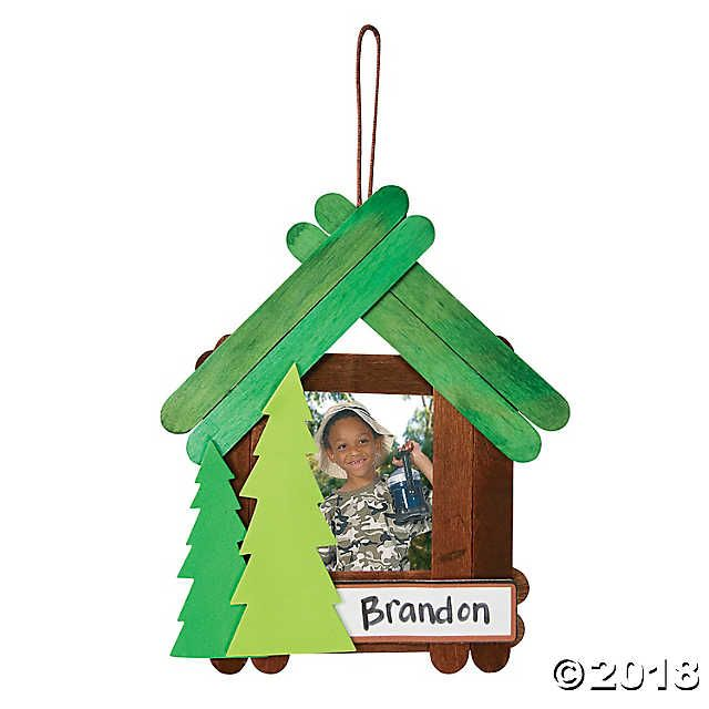 Camp Picture Frame Craft Kit #campingpictures