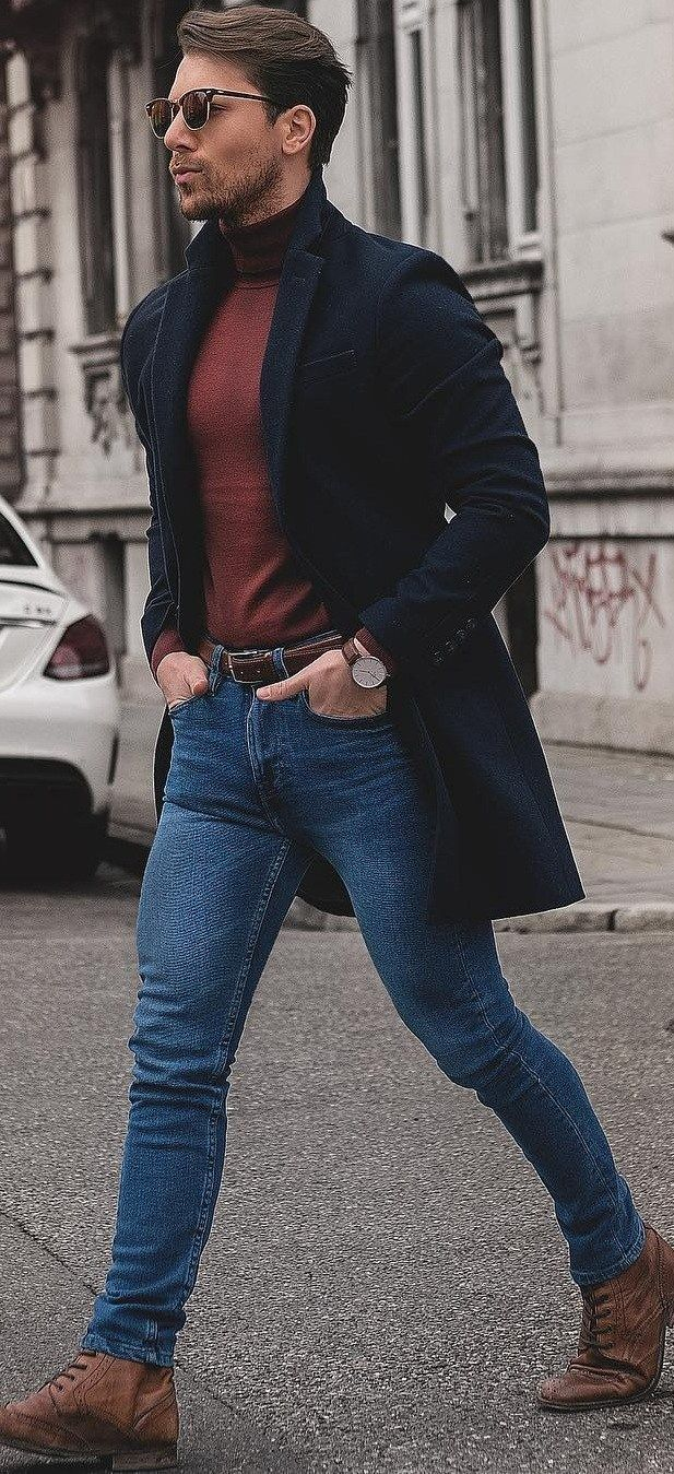 How To Wear Turtleneck T,shirt The Right Way