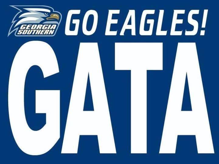 Pin By Amanda Johnson On Sports Georgia Southern Georgia Southern University Georgia Southern Eagles