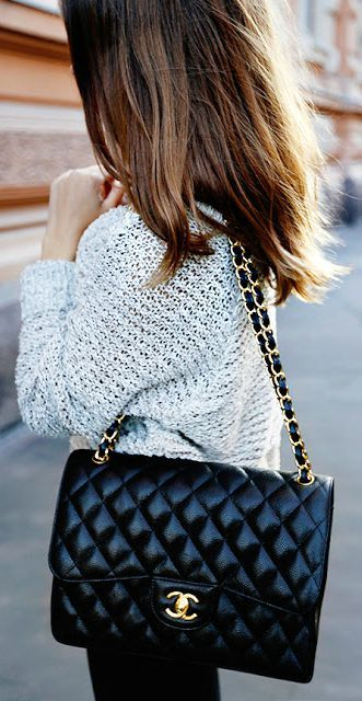 433c8839a730 75 Chic Outfits to Wear This Fall - Page 3 of 3   Chanel   Pinterest   Bags,  Handbags and Chanel