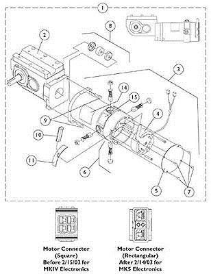 Mobility Scooter Parts: Invacare Corporation 1109167 Motor ... on