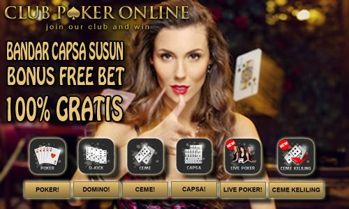 Club poker indonesia free slots for prizes online