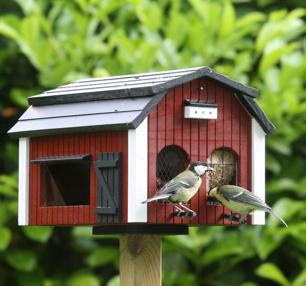 Kleines Schwedenhaus kleines schwedenhaus futterscheune futterhaus nistkasten vogelhaus