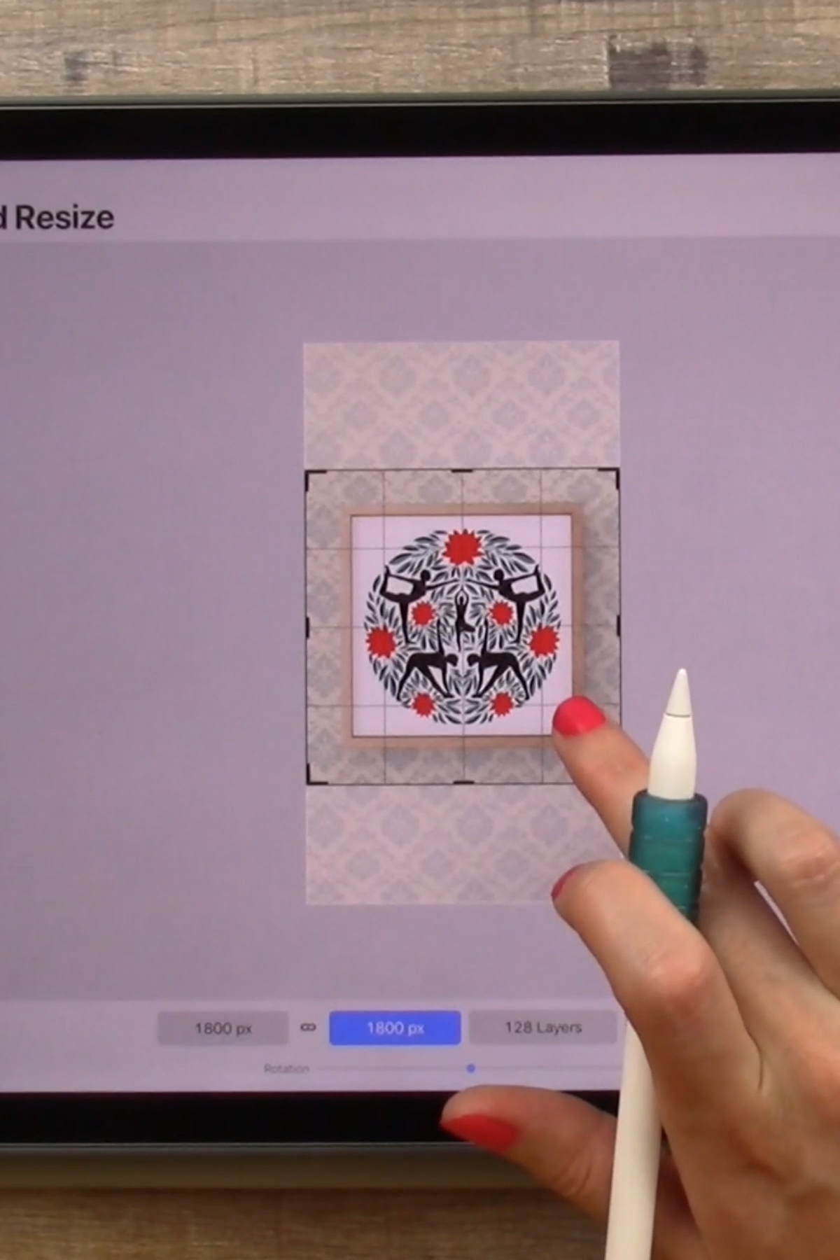 Society6 Mockups for iPad Artists