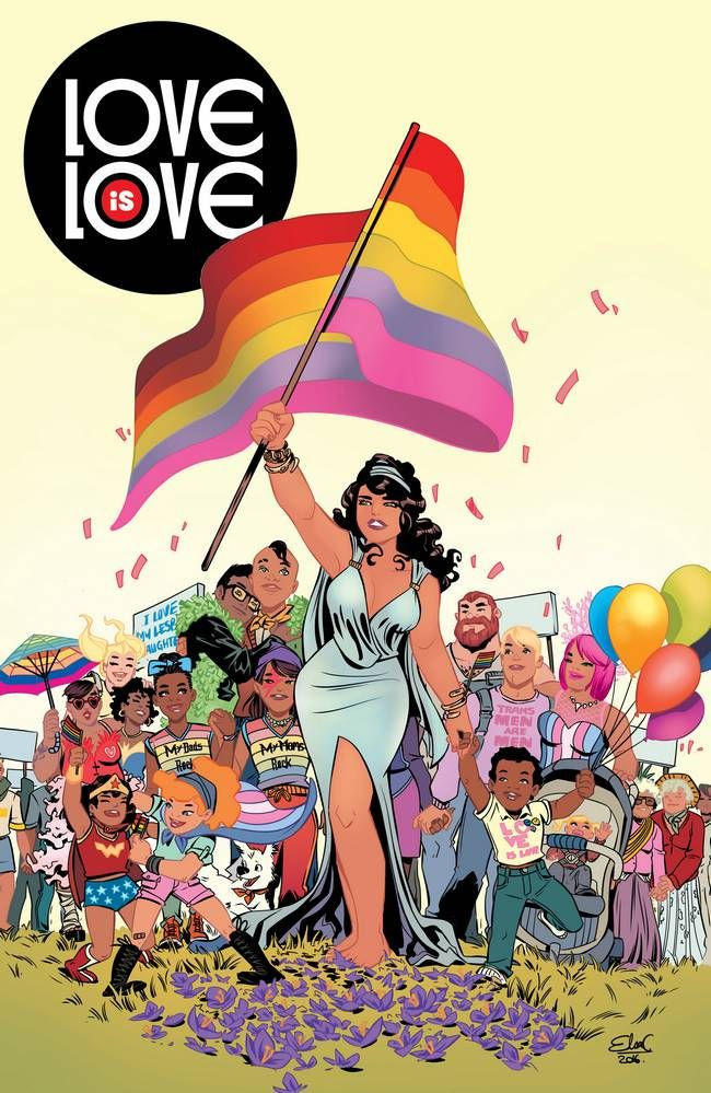 DC and IDW Announce LOVE IS LOVE Anthology Benefiting Equality Florida