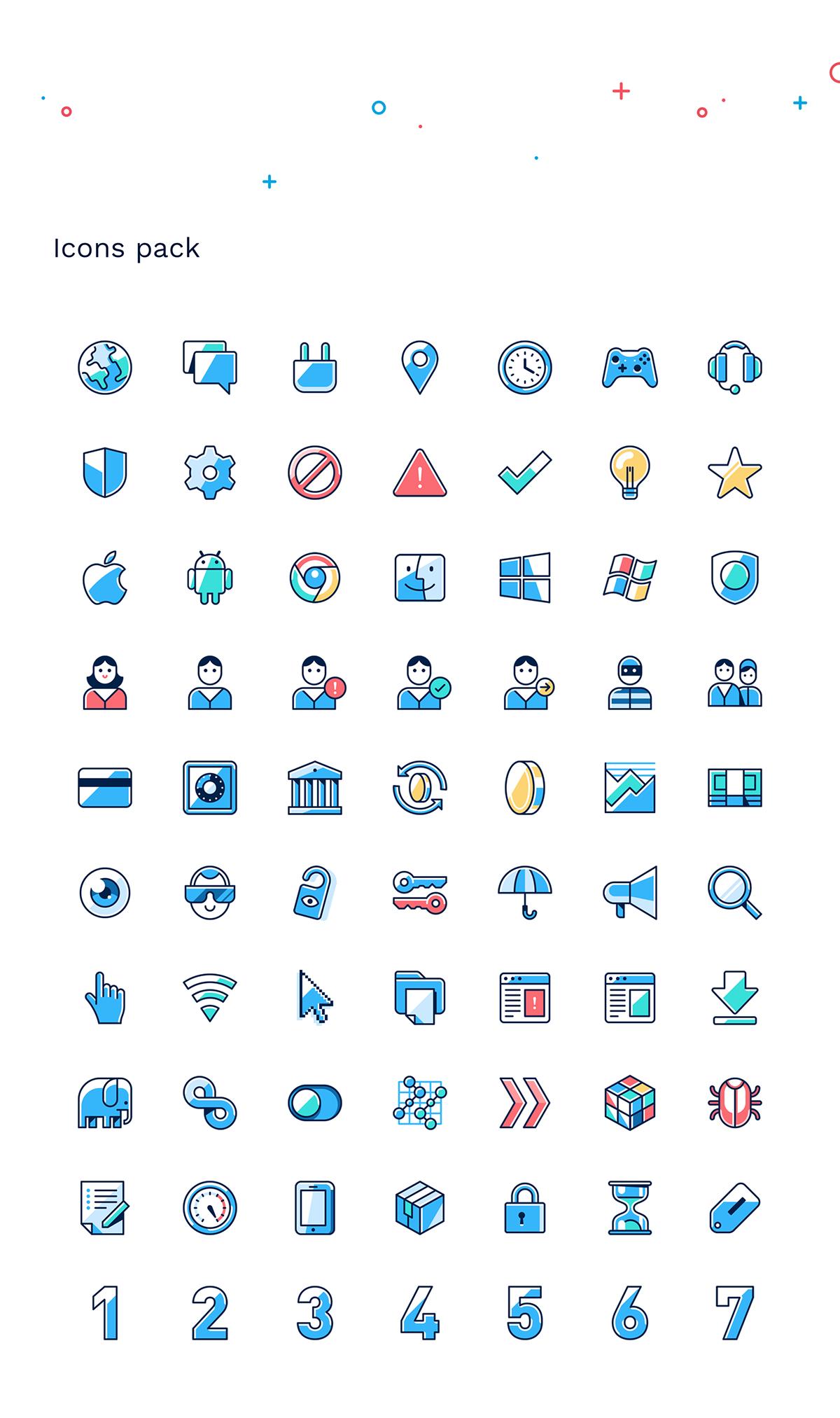 Illustrations For Hotspot Shield On Behance Illustration Hot Spot Illustration Character Design
