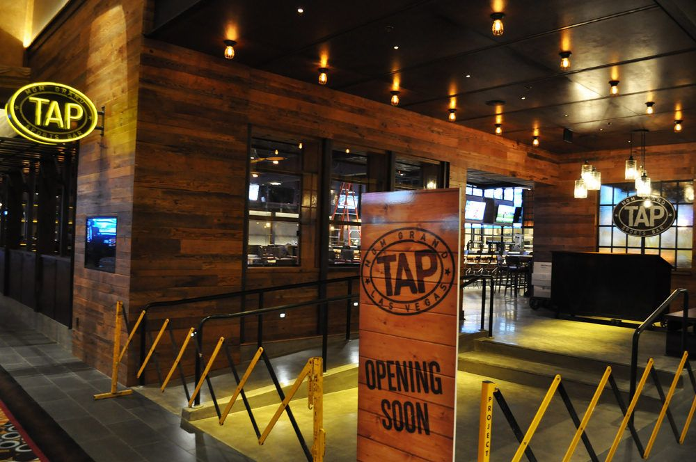 Sneak Preview of TAP at the MGM Grand Retail interior