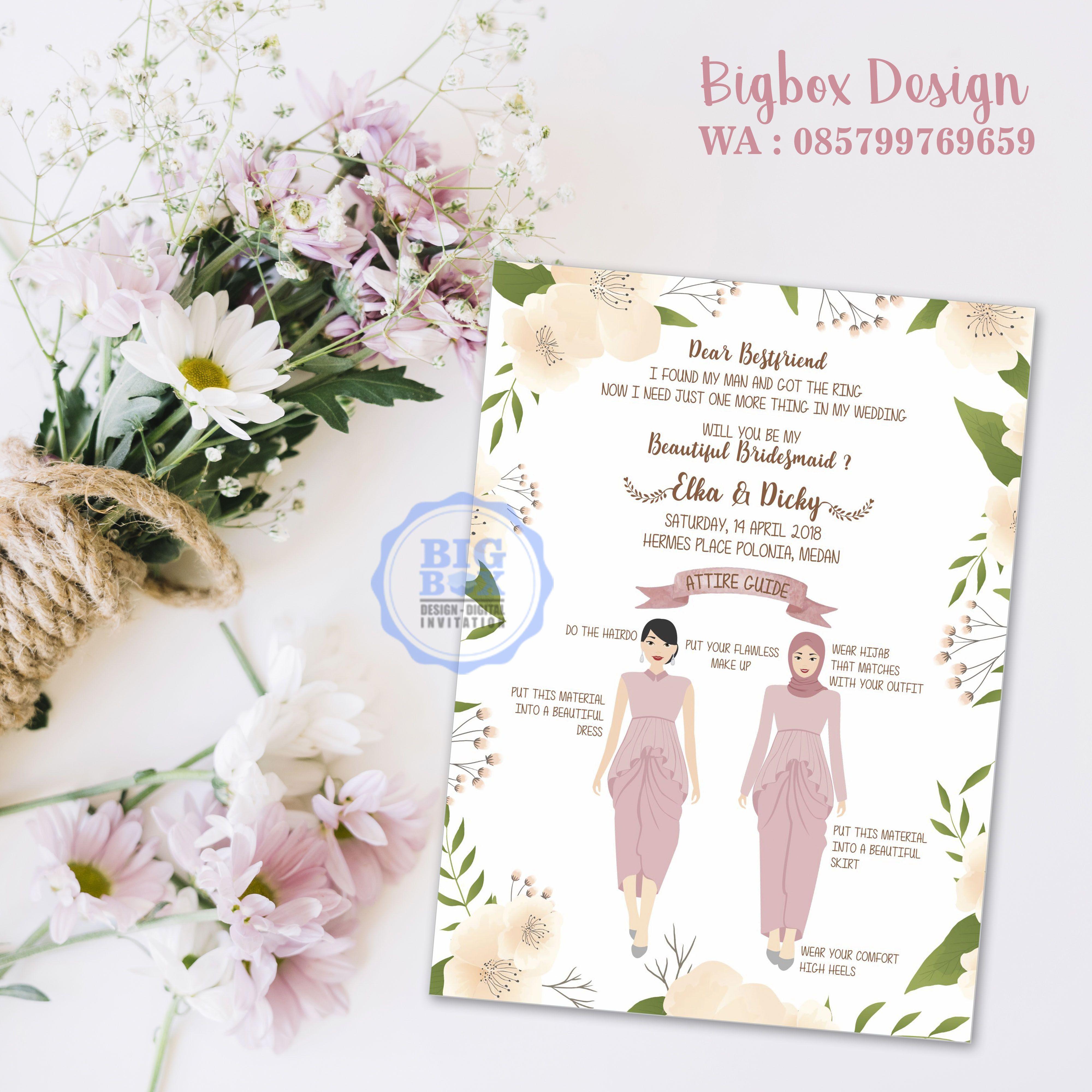 WeddingPlaner Contoh undangan pernikahan, Undangan