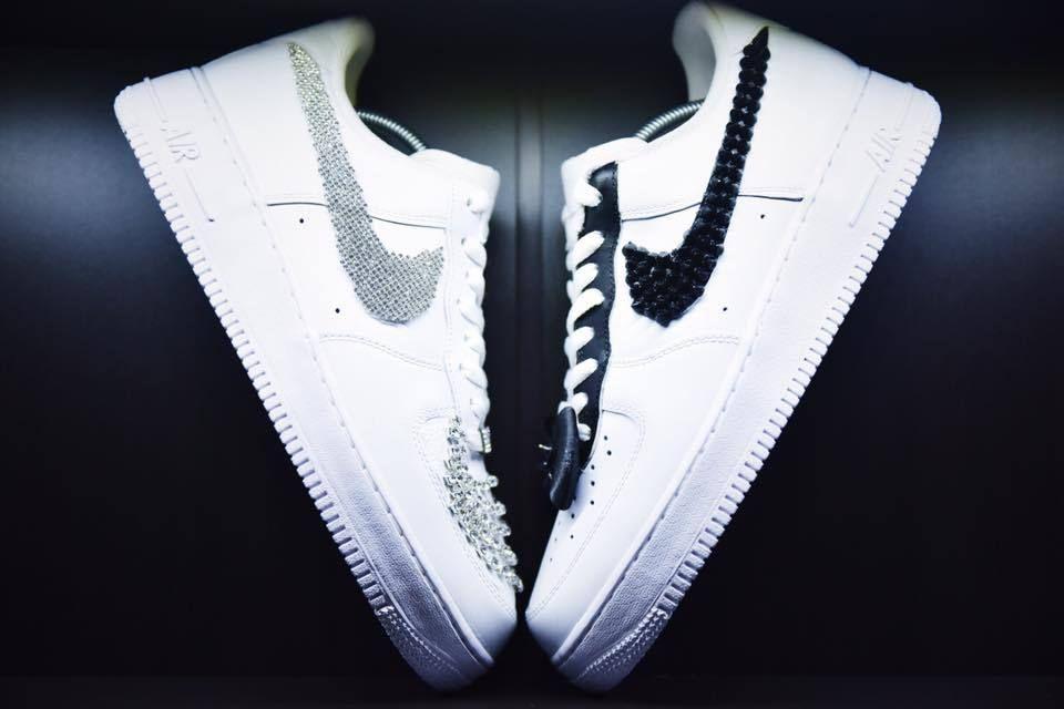 "Nike Air Force ""groom 1511 1 Custom Bride 8wOk0ZNnPX"