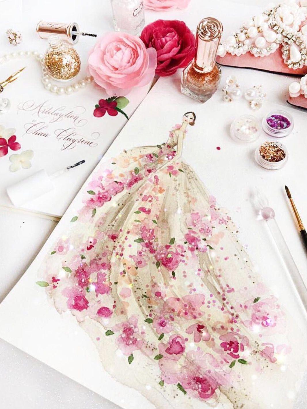 Pin de Helen Demczuk en Fashion Illustrations   Pinterest   Figurin ...