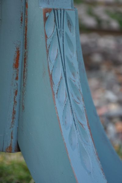 Love the color! Would be great on dining room furniture. Fab Rehab Creations~ a little paint, wax and elbow grease
