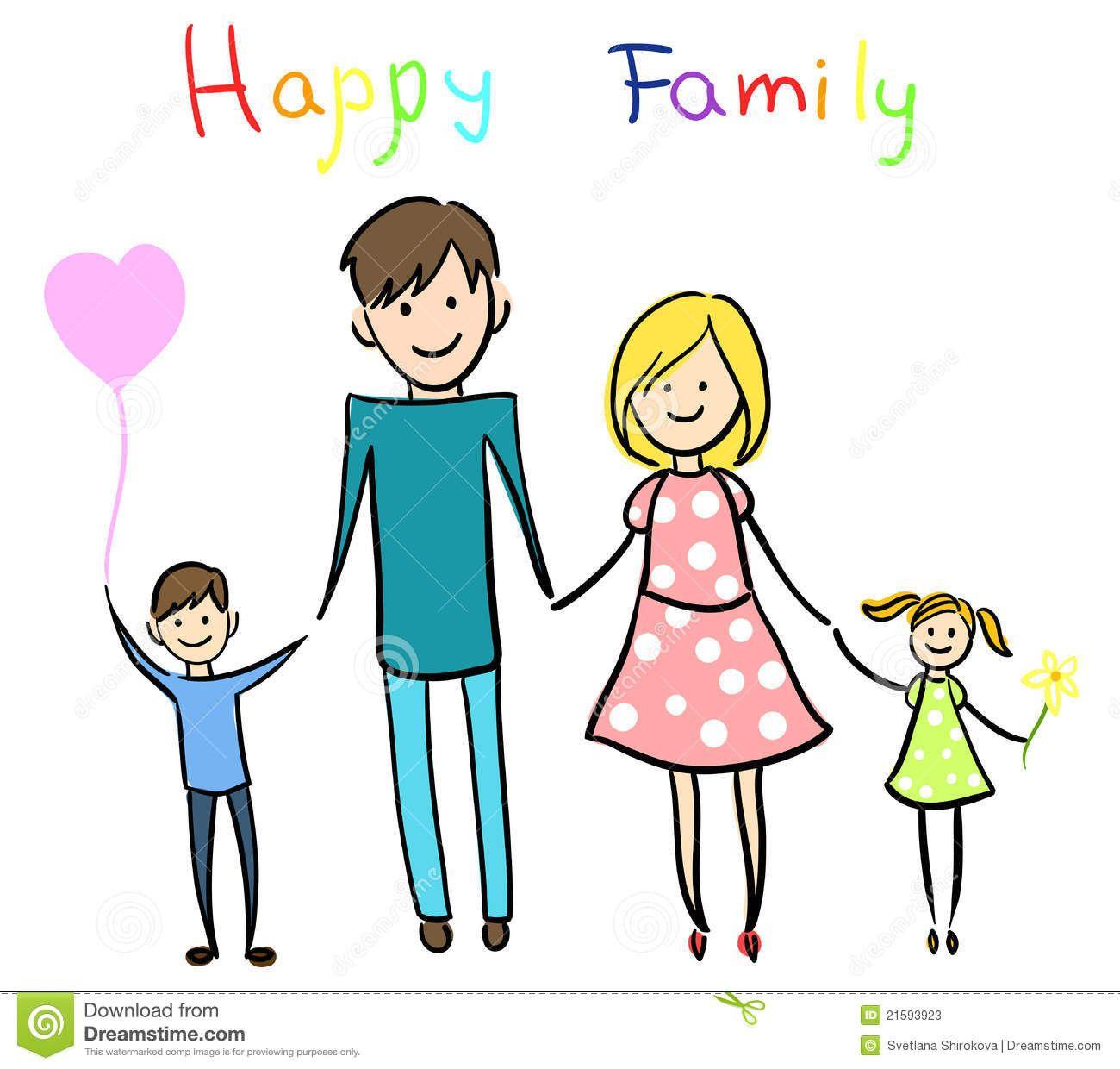 Family Clipart Happy Family 847 Stick Figure Family Family Illustration Family Clipart