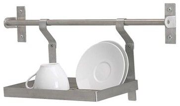 Hanging dishrack from Ikea (couldn't find on their website though)