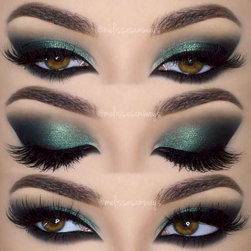 There are a few different shades that is likely to make green eyes really pop. Smoky makeup works nicely with your hooded eyes, as it assists open up the ...
