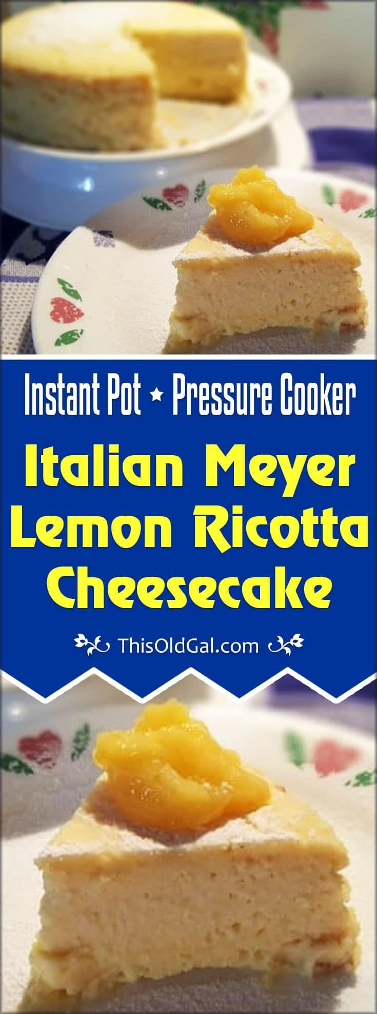 Instant Pot New York Style Cheesecake Recipes