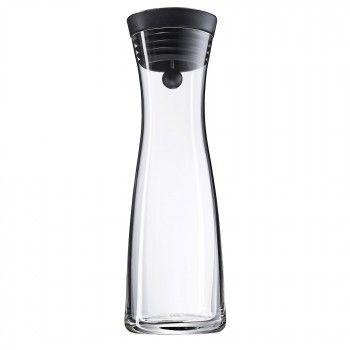 Carafe à eau 1,0 l noire Basic - Séries - Maison