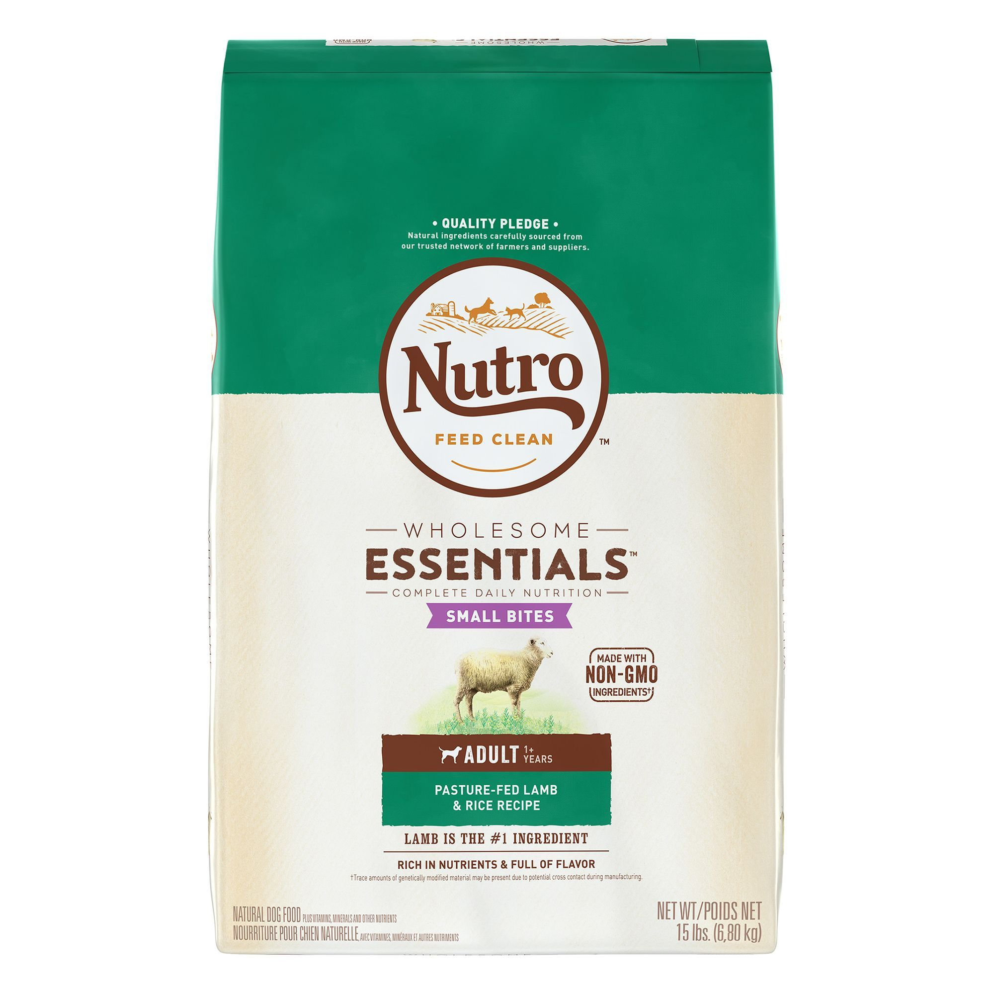 Nutro Wholesome Essentials Small Bites Adult Dog Food Natural