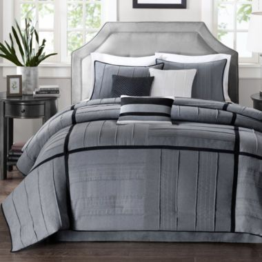 Madison Park Riverside 7-pc. Herringbone Comforter Set found at ...