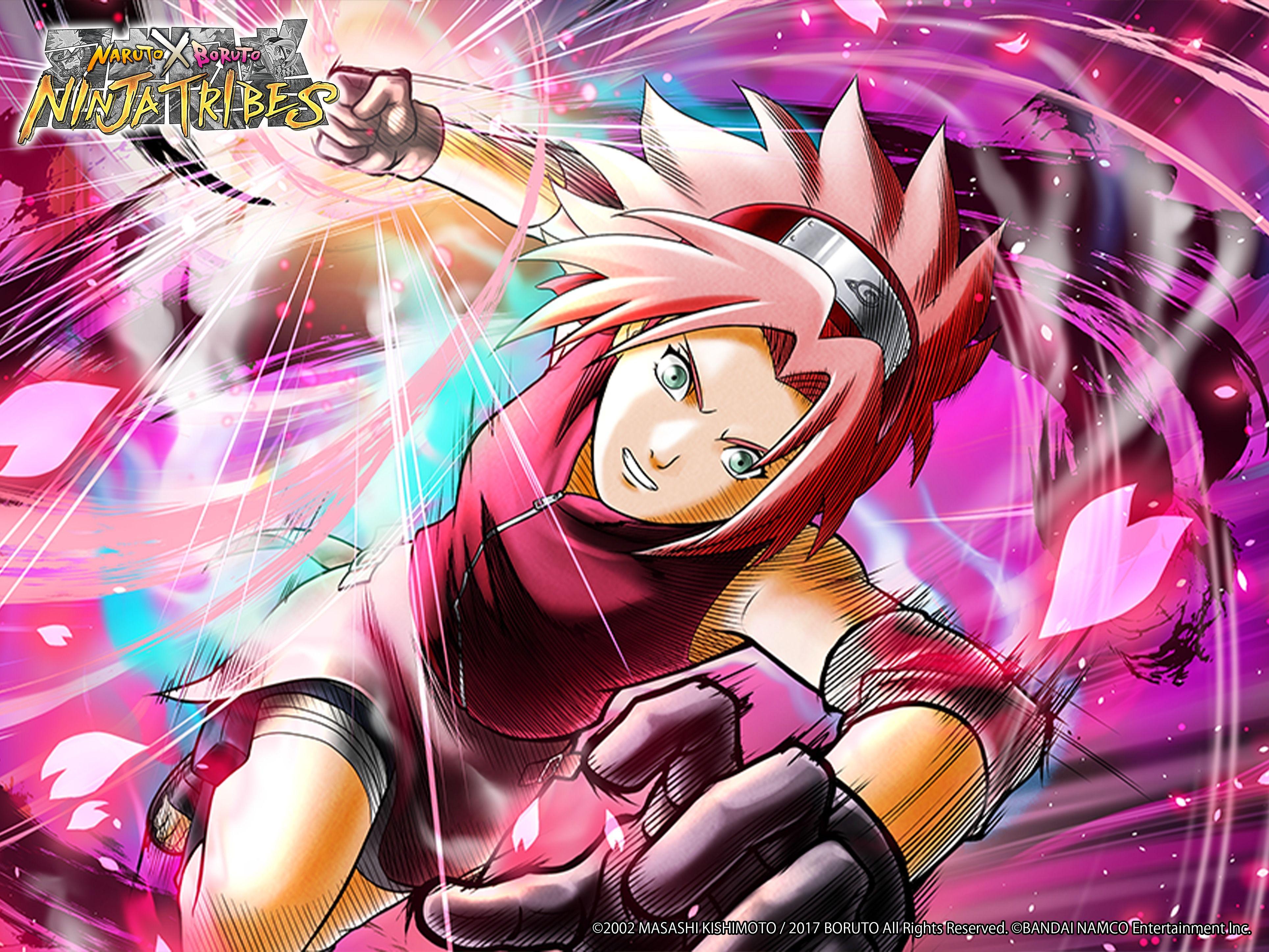 Sakura Haruno Naruto X Boruto Tribes Anime Fandom Anime Sakura Haruno