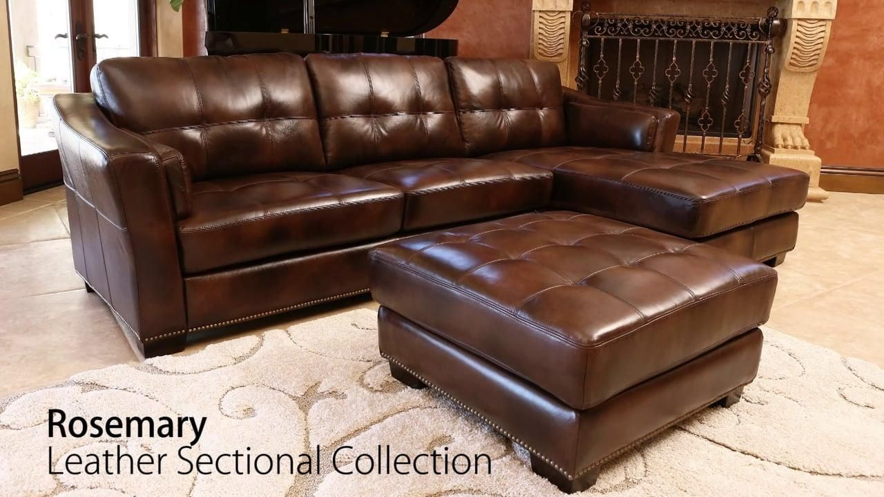 abbyson living modena leather sectional modena reclining leather sofa abbyson living ebay 162. Black Bedroom Furniture Sets. Home Design Ideas