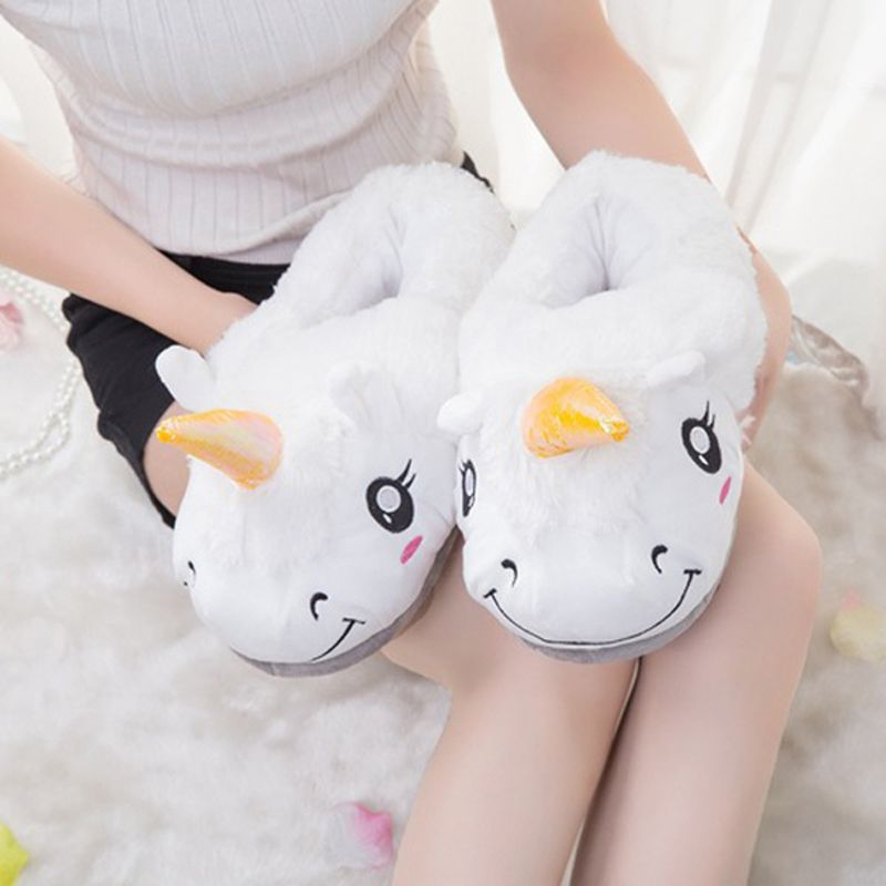 Photo of US $6.48 34% OFF|HENGSONG Winter Indoor Slippers Plush Home Shoes Unicorn Slippers for Grown Ups Unisex Warm Home Slippers Shoes 4 Types TR986740|unicorn slippers|indoor slippers|winter indoor slippers – AliExpress