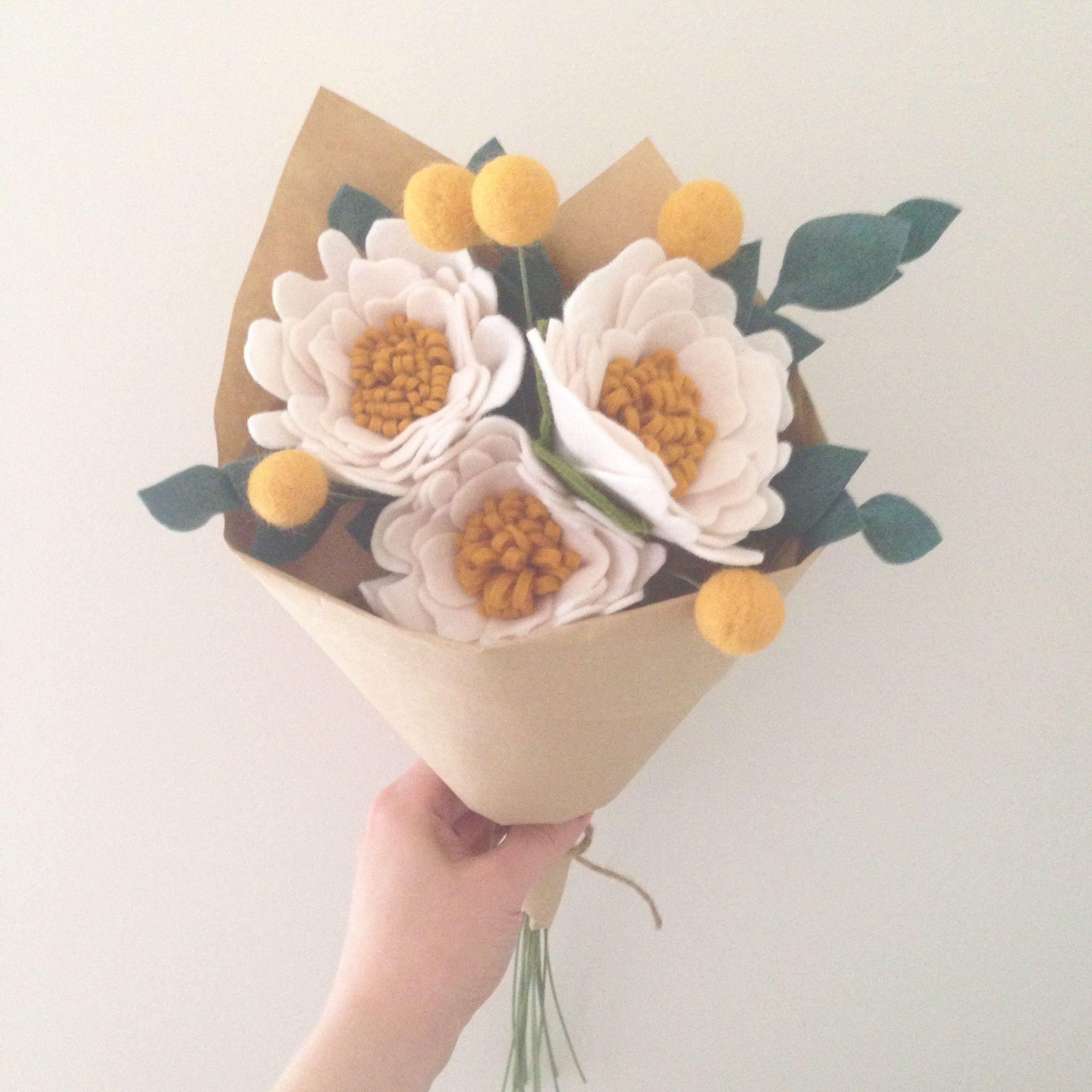 Felt flowers by dear may pinterest felt flowers felt flowers by dear may izmirmasajfo