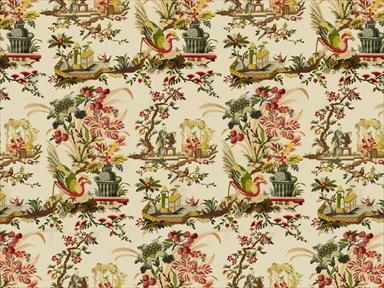 Brunschwig & Fils LE LAC GLAZED CHINTZ YELLOW BR-71162.331 - Brunschwig & Fils - Bethpage, NY, BR-71162.331,Brunschwig & Fils,Print,Yellow,S,Up The Bolt,BR-71162,Asian,Multipurpose,USA,Yes,Brunschwig & Fils,LE LAC GLAZED CHINTZ YELLOW