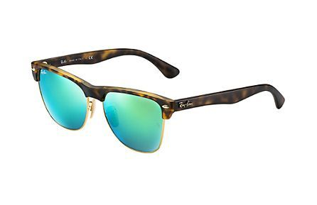 217051e1dc3 Ray-Ban RB4175 unisex 2 - CLUBMASTER OVERSIZED FLASH LENSES SUN ...