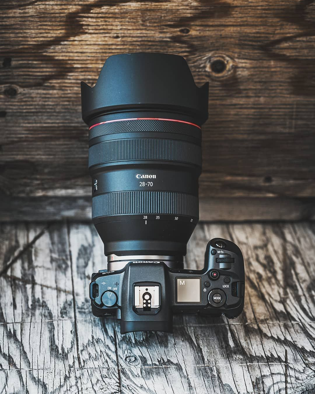 Eos R With The Rf 28 70mm F 2l Canon Camera Photography Cameras And Accessories Pink Camera