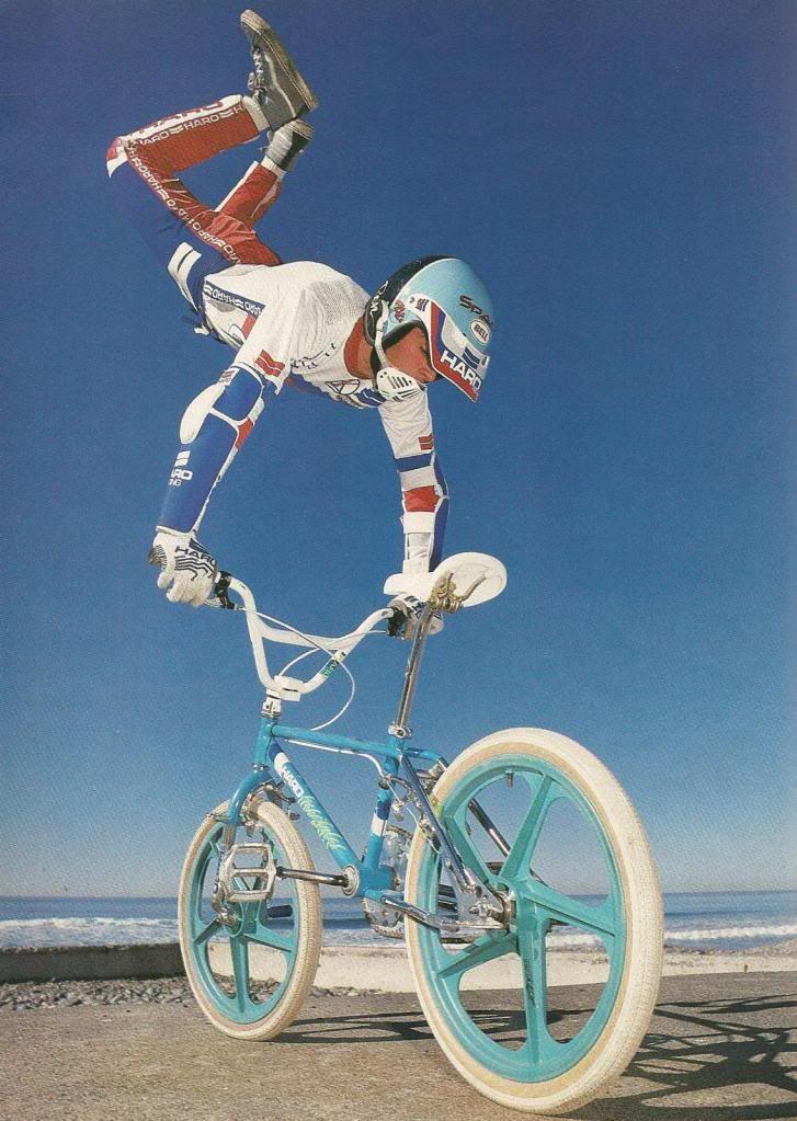 1980 Pilotes Freestyle 1985 Bmx