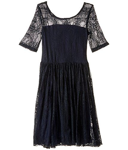 fiveloaves twofish Girls Maiden of the West Dress Little KidsBig Kids Navy Dress 6 Little Kids * Learn more by visiting the image link.Note:It is affiliate link to Amazon.