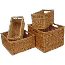 Photo of Drawer from willow box II. W 42 x D 28 x H 19 (cm)