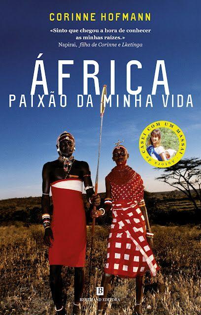 Novo livro do Clube. Venha descobrir África com Corinne Hofmann