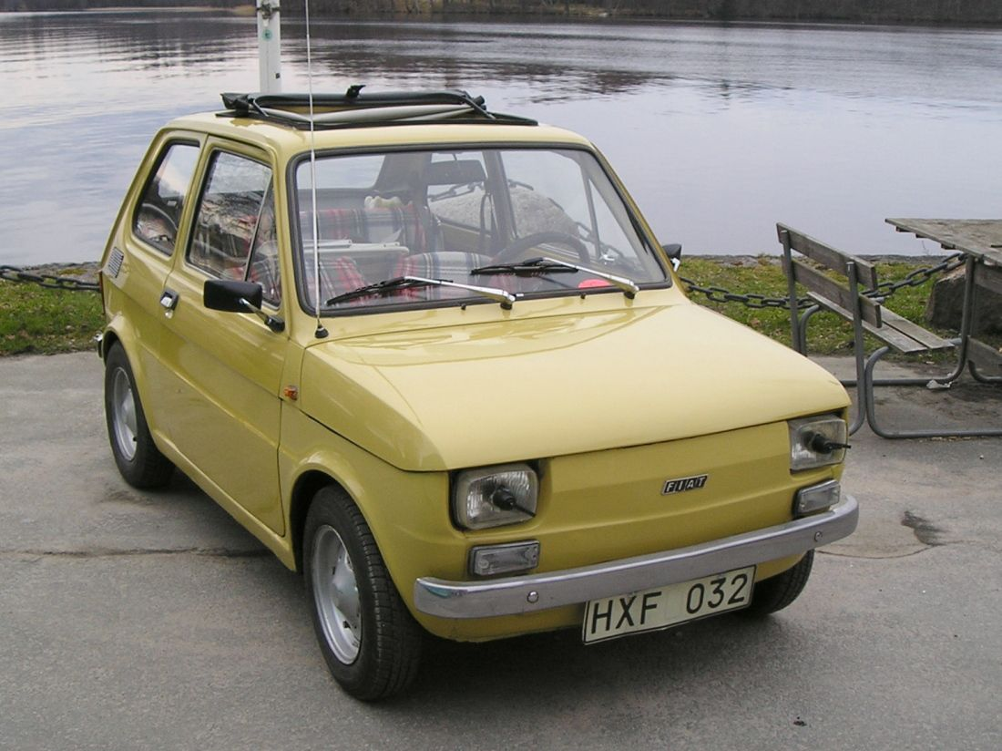 Fiat 126 Yellow Mum S Car During The 80 S Fiat 126 Fiat Fiat