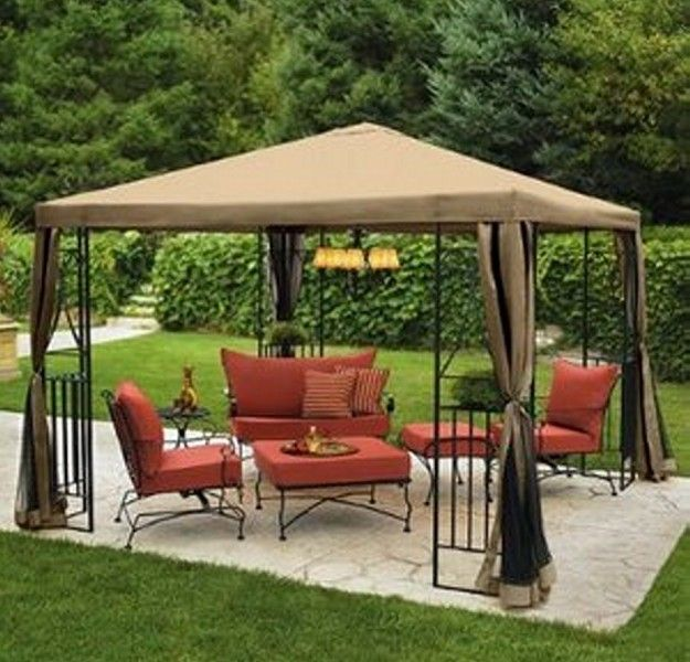 Marvelous Low Voltage Gazebo Lighting Ideas | Pergolas / Gazebo (shared Via SlingPic)