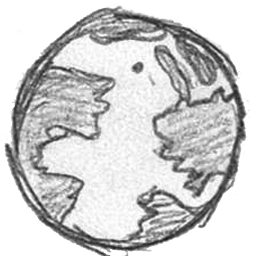 Earth Png 256 256 Hand Drawn Icons How To Draw Hands World Icon