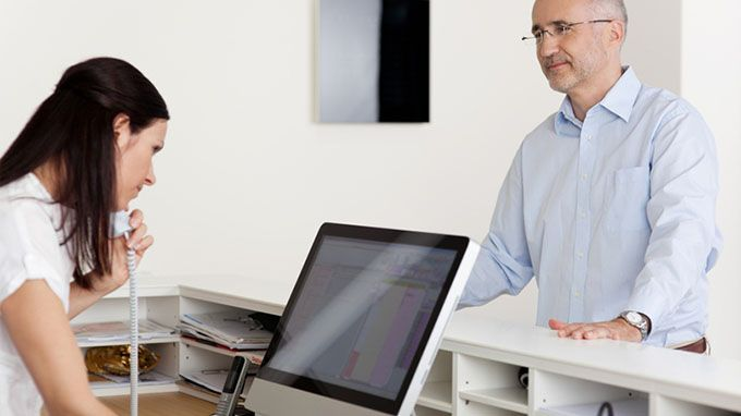 Receptionist Interview QA