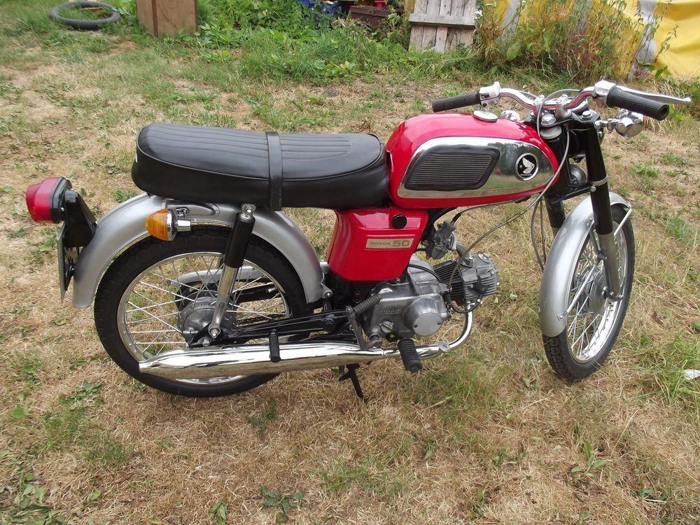 1970 One Owner From New Good Running Order Engine Checked And Rebuilt Mot 11 Months New Exhaust Original Bill Of Sale Ebay Honda Honda 50 Classic Bikes