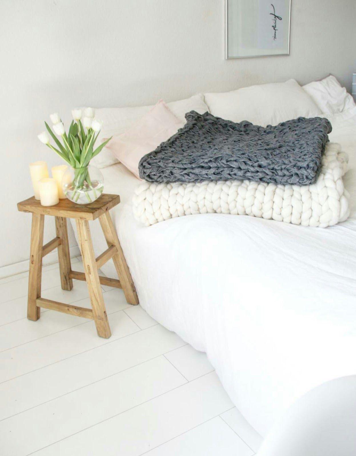 Ladylucy Diy Xxl Chunky Knit Decke Aus Ikea Polarvide Decken