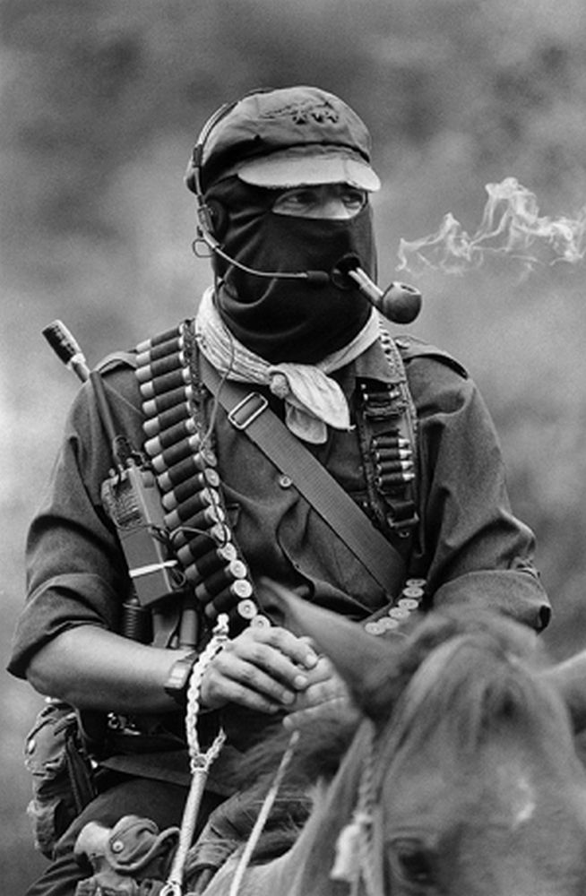 Image result for subcomandante marcos poster