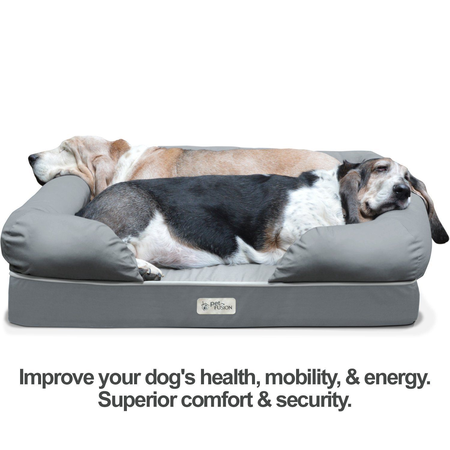 product p pet sherpa wcream super snoozer dog rectangle ortho bed orthopedic beds big w lounge cream